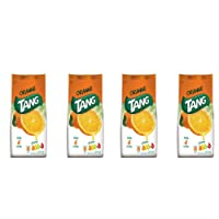 Tang Instant Drink Mix, Orange,4L- 500g (Pack of 4)