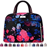 Lunch Bags For Women,Insulated Lunch Box Tote Bag Lunch Organizer Lunch Holder For Men/Beach/Party/Boating/Office/Fishing/Picnic (Black Rose)