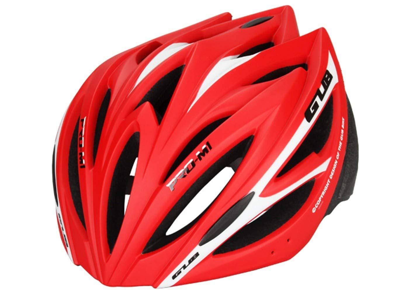 Casco,Deportes al Aire Libre Ciclismo Casco Moldeado Integrado Mountain Bike, Casco de Seguridad, Casco de Bicicleta Deportes Equipamiento Confort Casco, Bicicleta