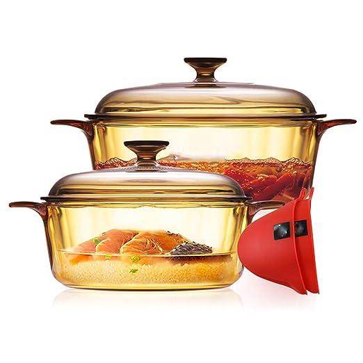 Utensilios de cocina Horno holandés de hierro fundido inferior ...