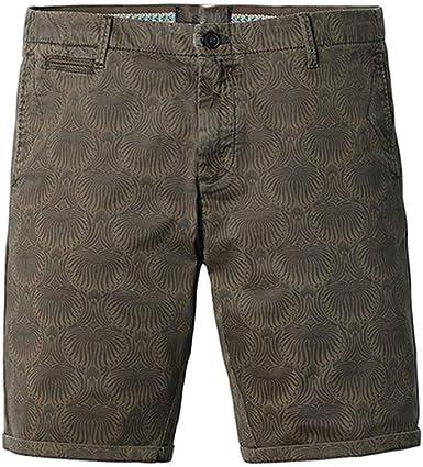 ghhingj - Pantalones cortos de algodón para hombre, ajustados, ajustados, ajustados, ajustados, Fit180323: Amazon.es: Ropa y accesorios