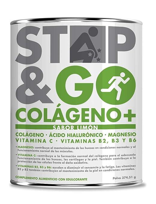 Stop & Go Complemento Alimenticio Colágeno - 1 Unidad: Amazon.es: Salud y cuidado personal