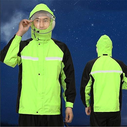 WAT Rainwear 1 Juego de Impermeable y el traje de pantalones ...