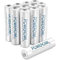 POWEROWL AAA oplaadbare batterijen met hoge capaciteit 1000 mAh voorlading Ni-MH lage zelfontlading oplaadbare AAA…