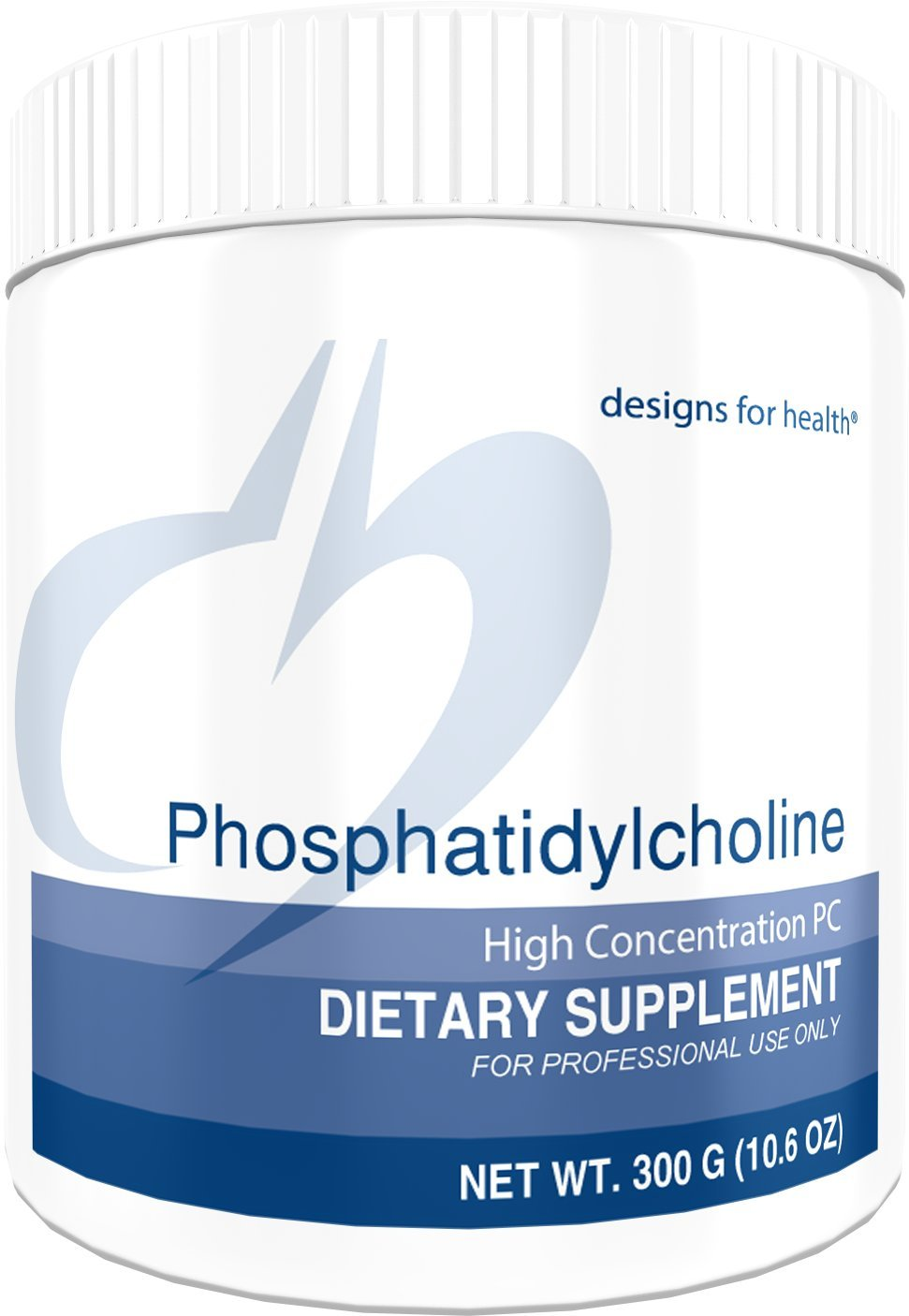 Designs for Health Phosphatidylcholine Powder - 4g from 10g Lecithin for Brain + Liver Support (30 Servings / 300g) by designs for health