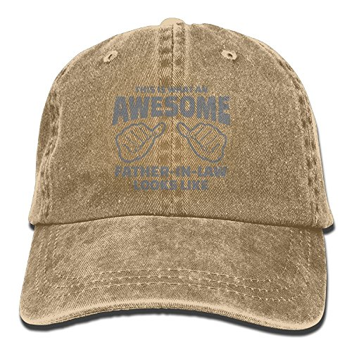 DA41SXK1 Cap Son Father In Law Modern Cap Baseball Hat Head-Wear Cotton Trucker Hats - Florence Centre Shopping