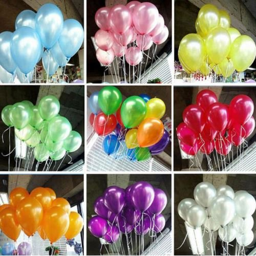 Chess Musical Costumes (100pcs/lot 10 inch Latex Balloons Thickening Pearl Celebration Helium balloon Birthday decoracio globos Wedding Party supplies (Multicolor) by Completestore)