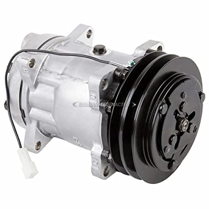 Amazon.com: New AC Compressor & A/C Clutch For Sanden Style 7952 8088 - BuyAutoParts 60-02442NA NEW: Automotive
