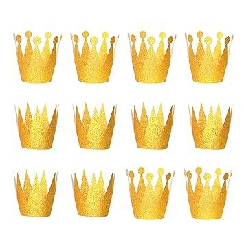 BESTOYARD Corona de Princesa para Cumpleaños de Plástico ...