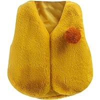 Chalecos para Bebés,Niña Cálido Ropa Felpa Chaquetas Outfits