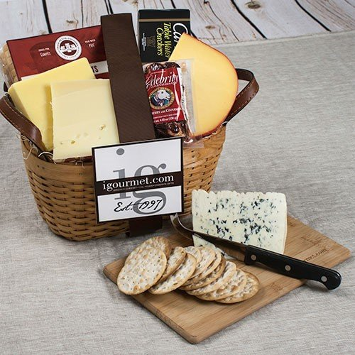 Amazon say cheese gift basket 46 pound gourmet cheese gift basket 46 pound gourmet cheese gifts grocery gourmet food negle