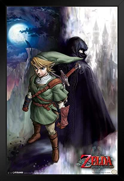 Legend of Zelda Link Dictionary Art Print Poster Picture Video Game Character