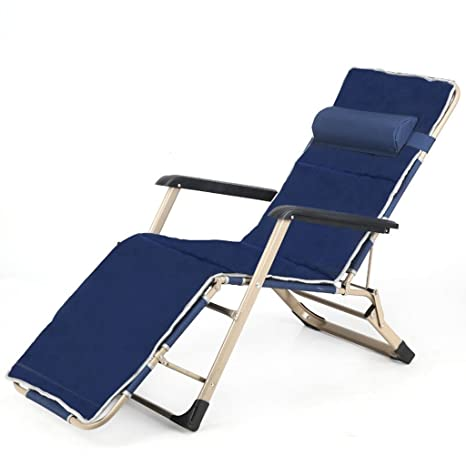 Royal Blue Folding Chair Cama Siesta Cama de enfermería Cama ...