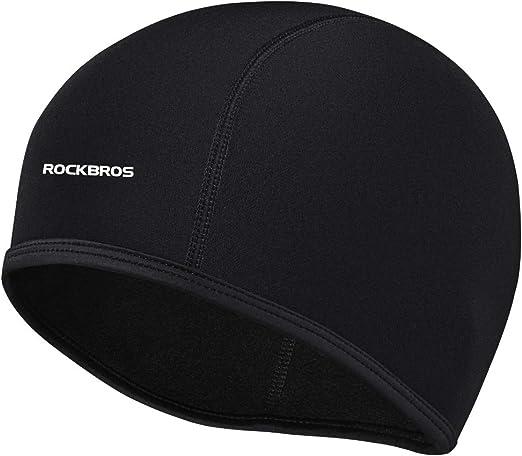 Windproof Fleece Thermal Winter Cycling Bike Sports Hat Helmet Liner Skull Caps