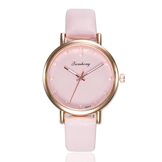 Womens Watch Mens Minimalist Watch Fashion Glass Round Skin Strap Alloy Quartz Lovers Dress Wrist Watches Relogio Feminino Watches