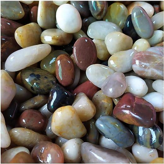 lifetop Piedras Decorativas para Acuario, Acuario, pecera, Planta suculenta, Paisaje de jardín, de 0.5 a 1.0 Pulgadas, Alrededor de 100 Piezas de Roca pequeña: Amazon.es: Productos para mascotas