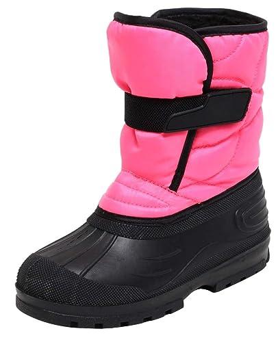 9c3a2ef2afac Mädchen Snowboots Schneestiefel Winterstiefel Stiefel für Kinder  Jugendliche Gr. 31-37 PINK SCHWARZ warm