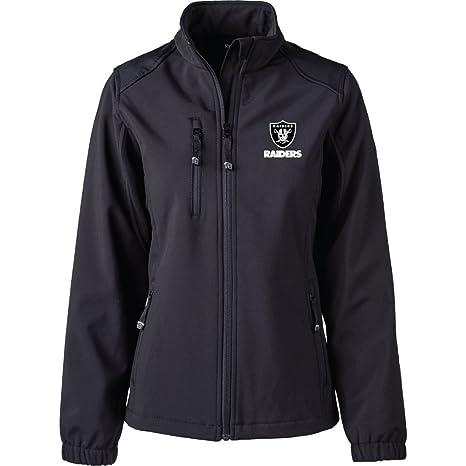 a04462d21 Amazon.com   Dunbrooke Apparel NFL Oakland Raiders Women s Softshell ...