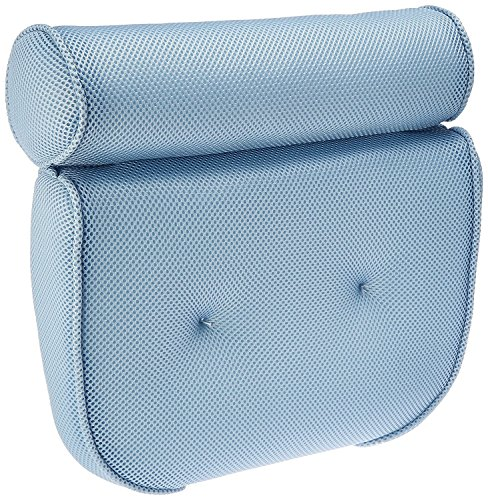 Tub Gift (BodyHealt Home Spa Bath Pillow - Non Slip - Two Panel - Supportive Comfort For Neck And Back While In The Tub)