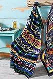 Black Forest Decor Desert Dance Oversized Towel