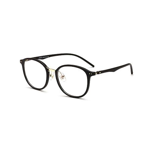 cd2868a4340 Amazon.com  Brand Designer Optical Glasses Frame Women Men Myopia Eyewear  Metal Eyeglasses  Clothing
