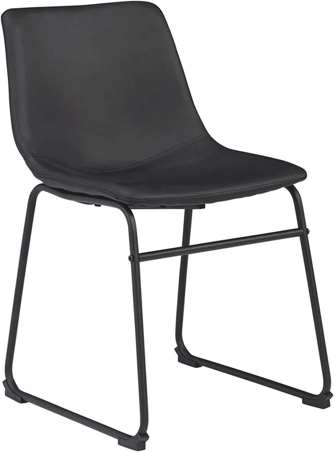 Signature Design by Ashley D372-06 Centiar Dining Chair, Black