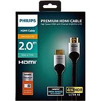 Philips Premium 18 Gbps 4K 60Hz HDMI Kablosu 2 Metre