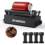 ATOMSTACK R3 Laser Rotary Roller, Laser Engraver Y-axis Rotary Roller Engraving Module for Engraving Cylindrical Objects Cans
