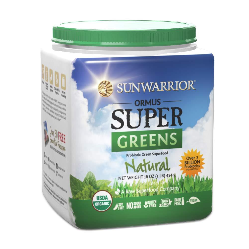 Sunwarrior - Ormus Supergreens, Powerful Vegan Greens with Trace