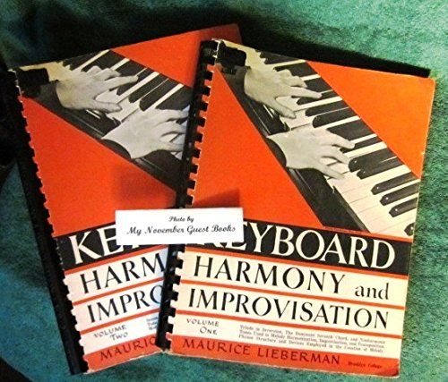 Volumes One and Two Complete of Keyboard Harmony and Improvisation Keith Jarrett Pianist