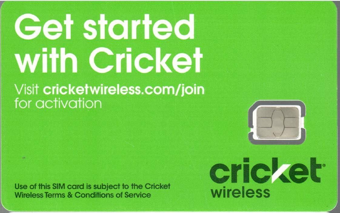 Cricket Wireless Nano SIM Card SKU: SGMN4024 Bring Your Own Phone