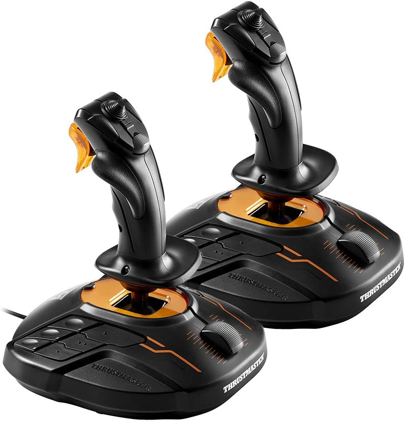 Thrustmaster T.16000M Space Sim Duo Stick Hosas System, T.A.R.G.E.T Software, PC