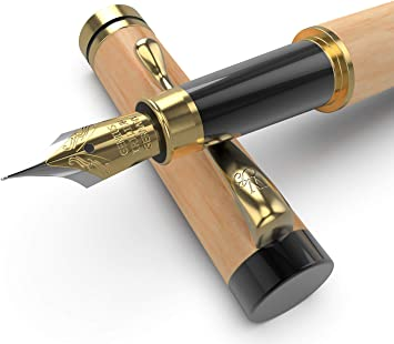 2 x Wooden Case Ink Pen ECig Cigar Holder Desk Office Gift NIB