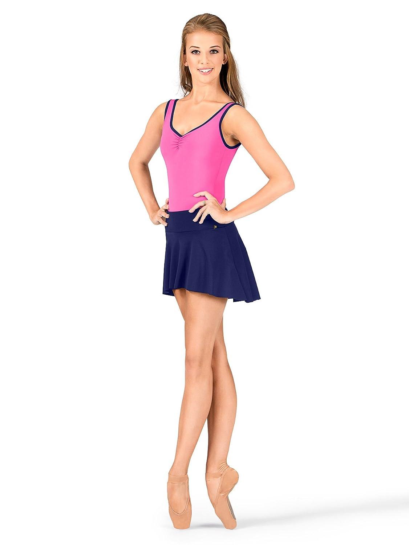 Mariia Women's Polina Hi-Lo Comfort Ballet Pull On Skirt