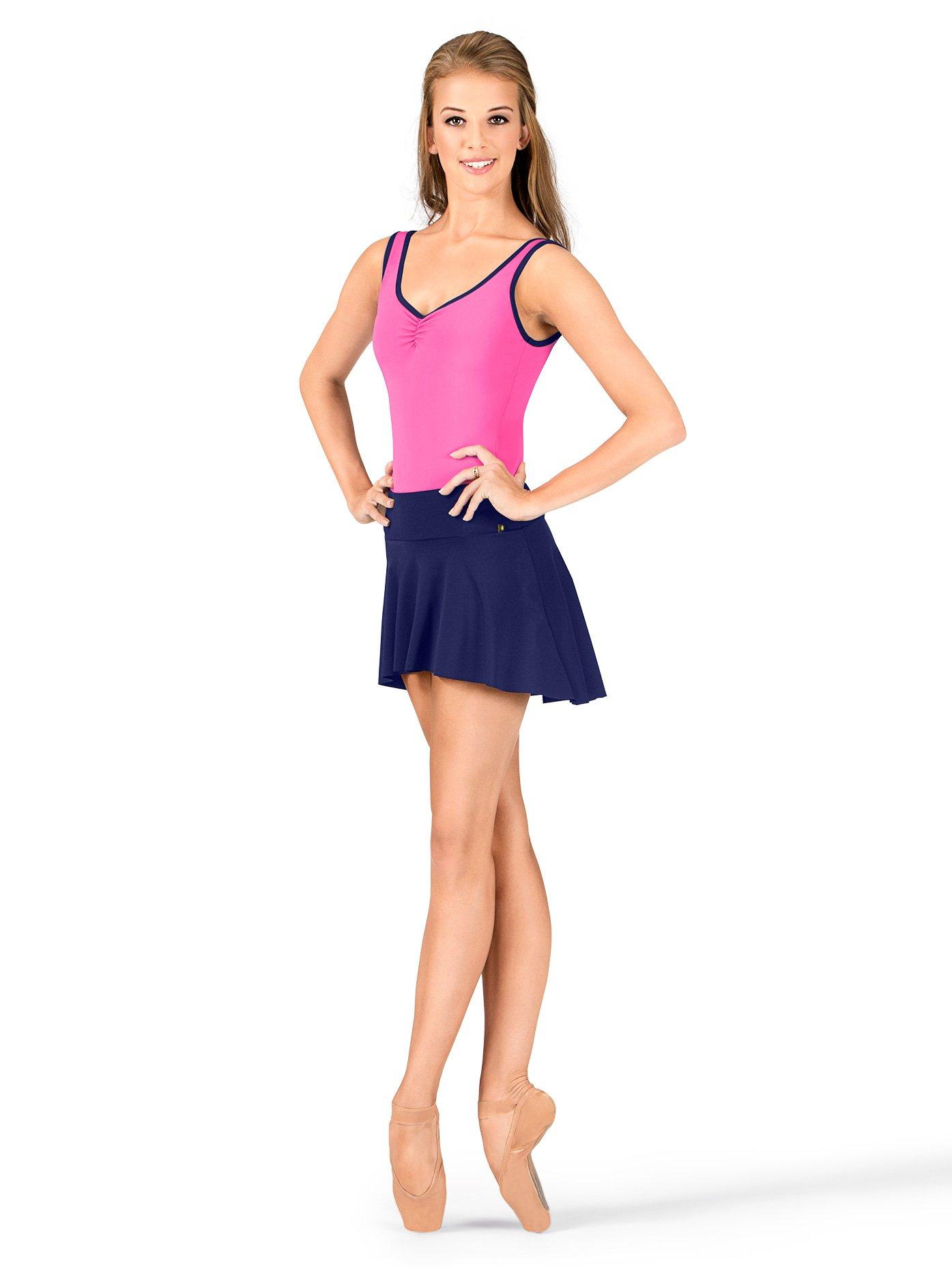 Adult ''Polina'' Pull-On Skirt,ME520BLKXL,Black,XL