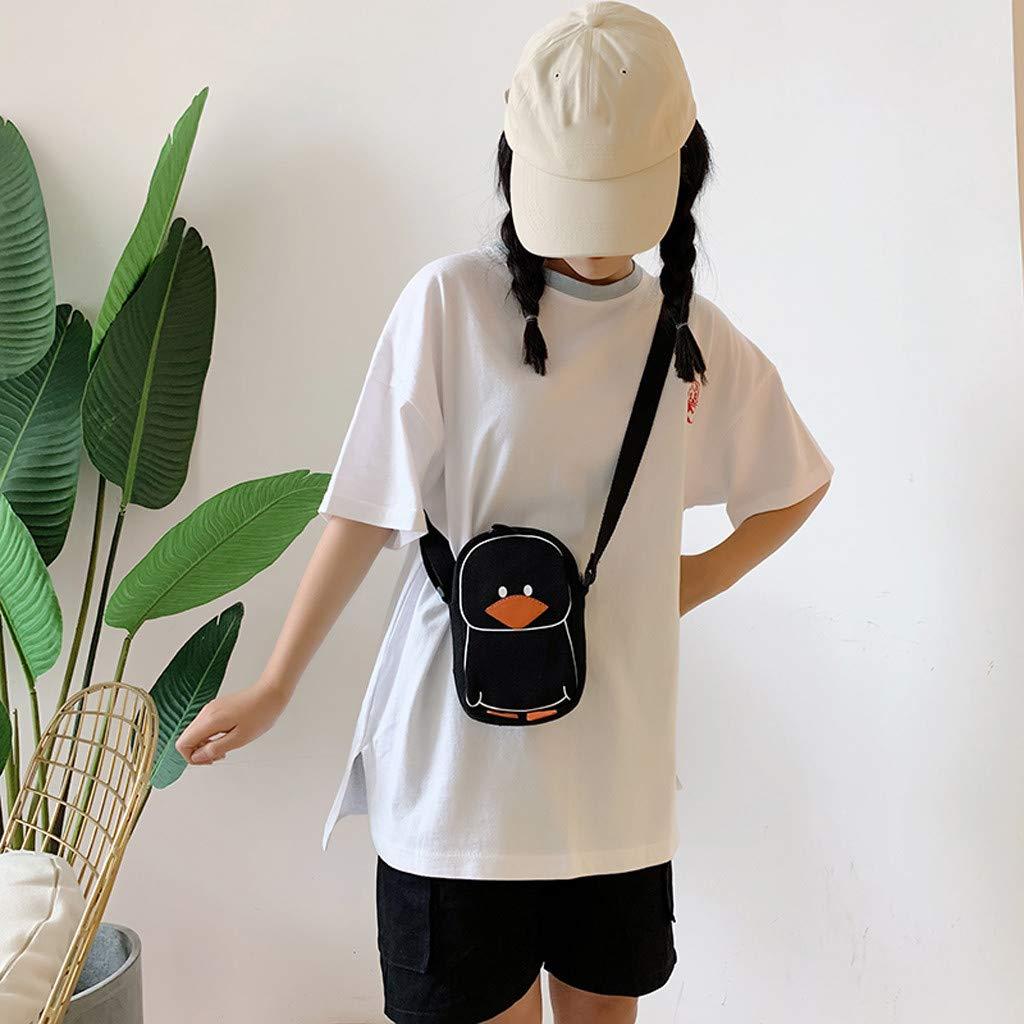 Lanhui Baby Bags Wild Boys Girls Shoulder Bags Funny Duck Shoulder Canvas Messenger Bag