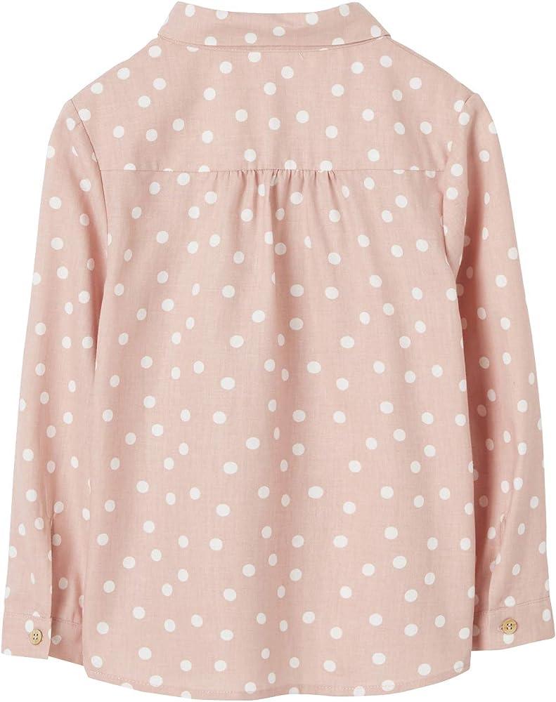 VERTBAUDET Camisa de Lunares para niña Rosa Claro Estampado 10A: Amazon.es: Ropa y accesorios