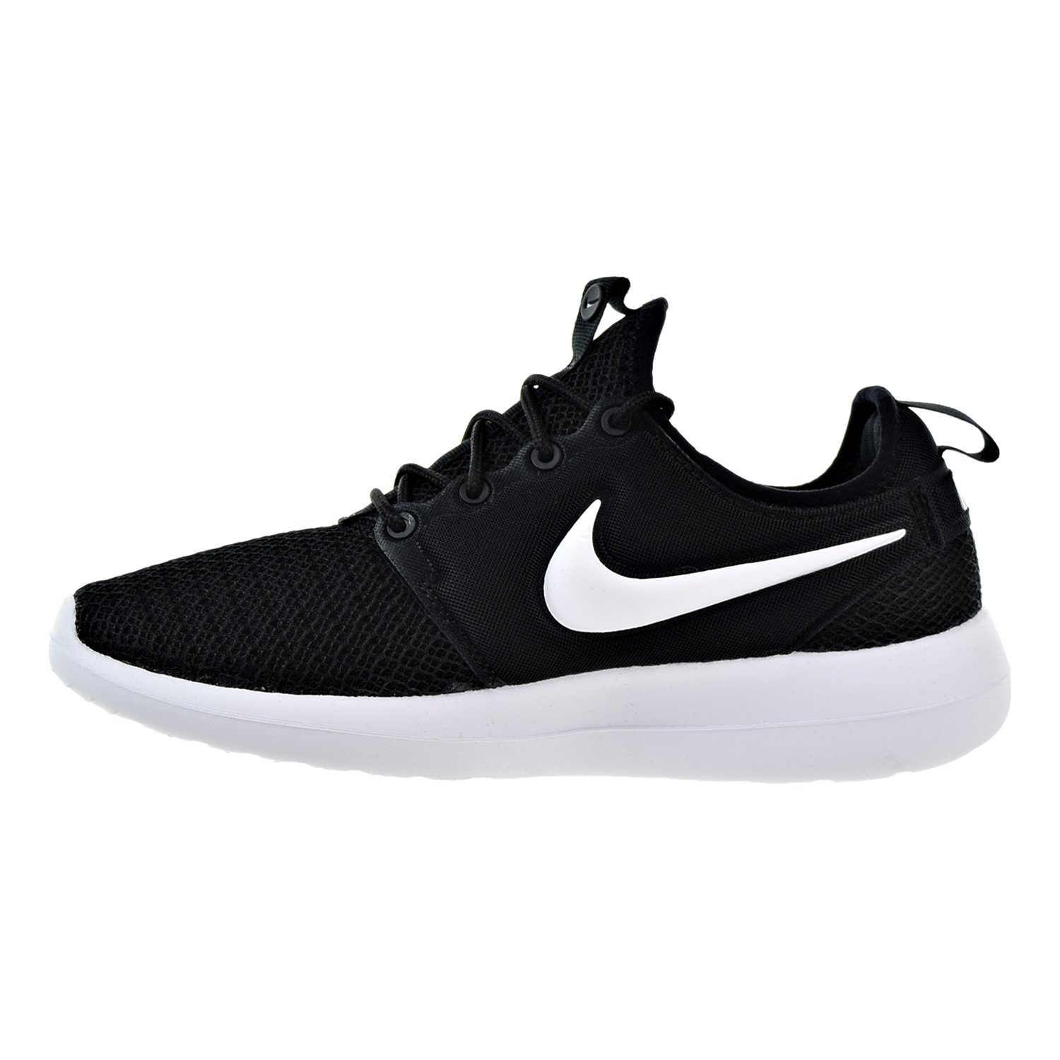 finest selection 4f405 a77f0 NIKE Roshe Two Women s Shoes Black Black White 844931-007 (10.5 B(M) US)   Amazon.co.uk  Shoes   Bags