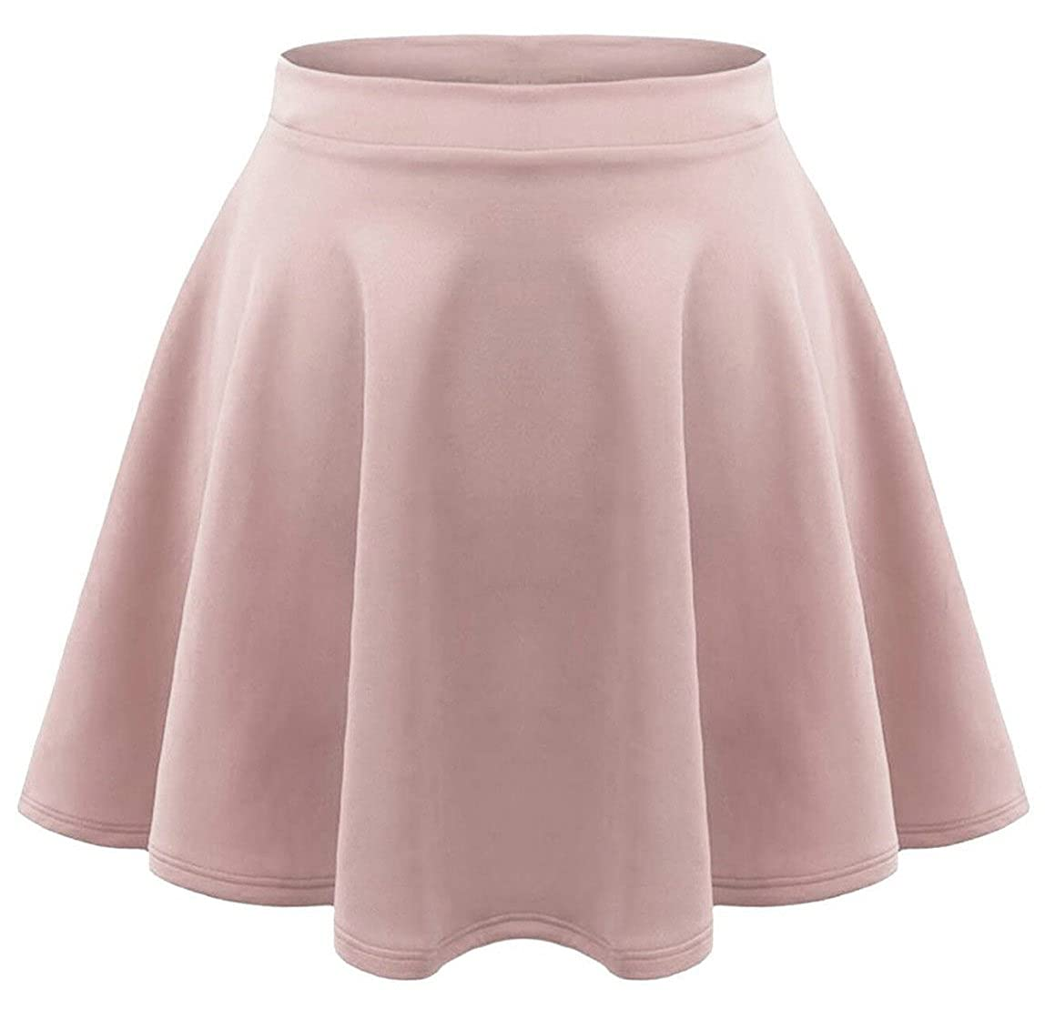 7fcfeaebcb Red Olives Kids Girls Children High Waisted Stretch Plain Flippy Flared  Short Skater Skirt Teens 7-8 Years, 9-10 Years, 11-12 Years, 13 Years