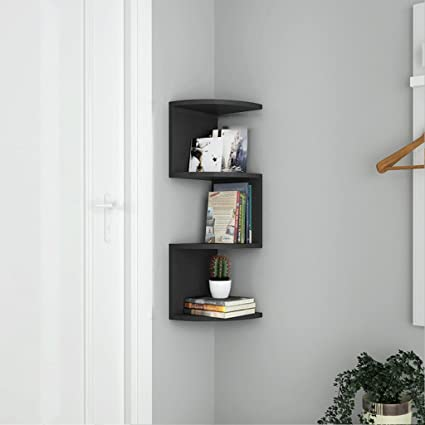 LTJTVFXQ Shelf Corner Bookshelf Racks Storage Rack Wall Mounted Bracket