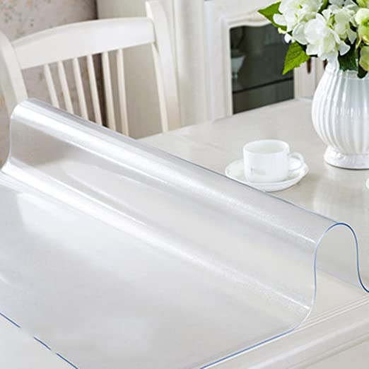 Manteles Comedor PVC impermeable de cristal suave Aceite anti ...