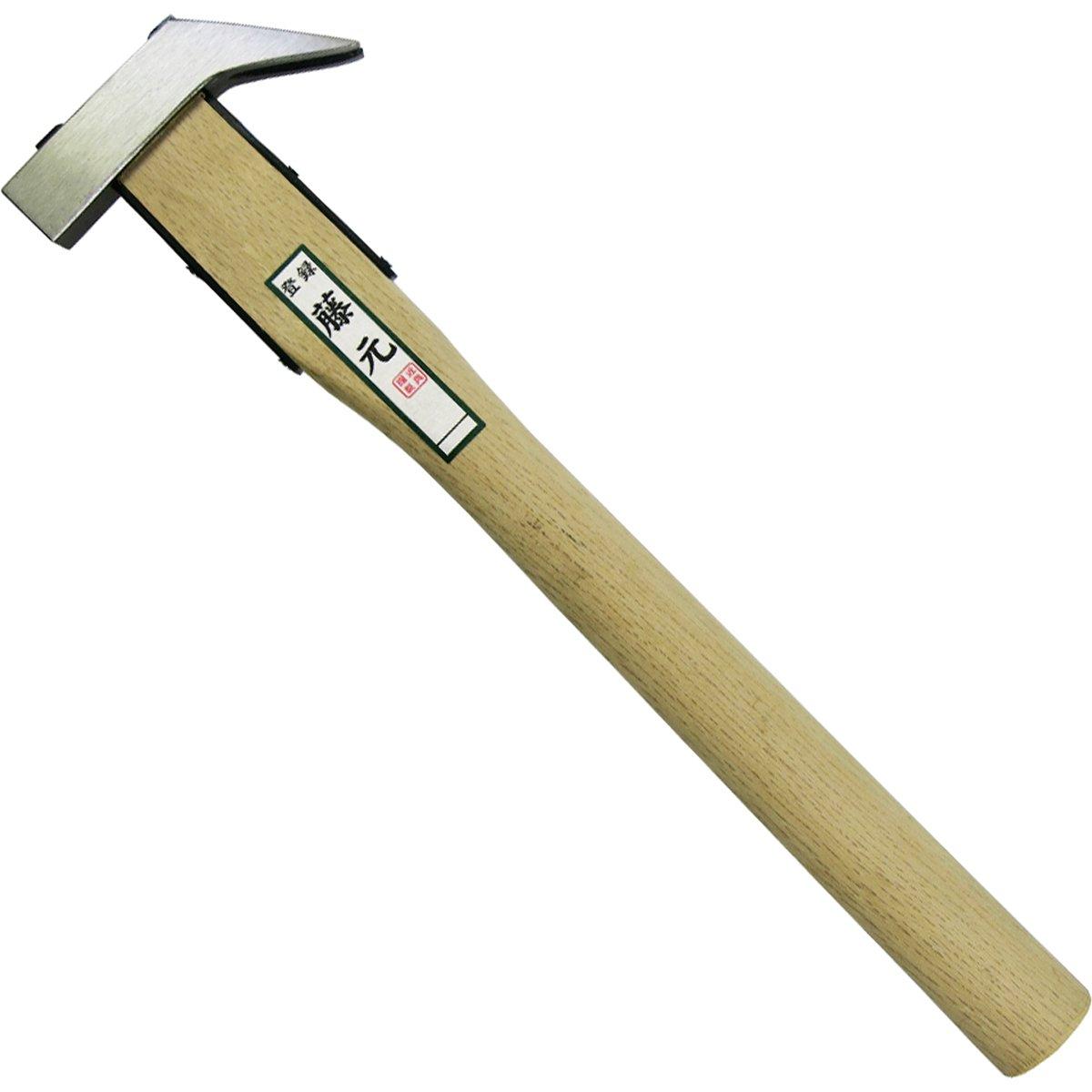 藤元 本職用 舞台屋槌 磨き仕上げ 樫材使用 尺2柄
