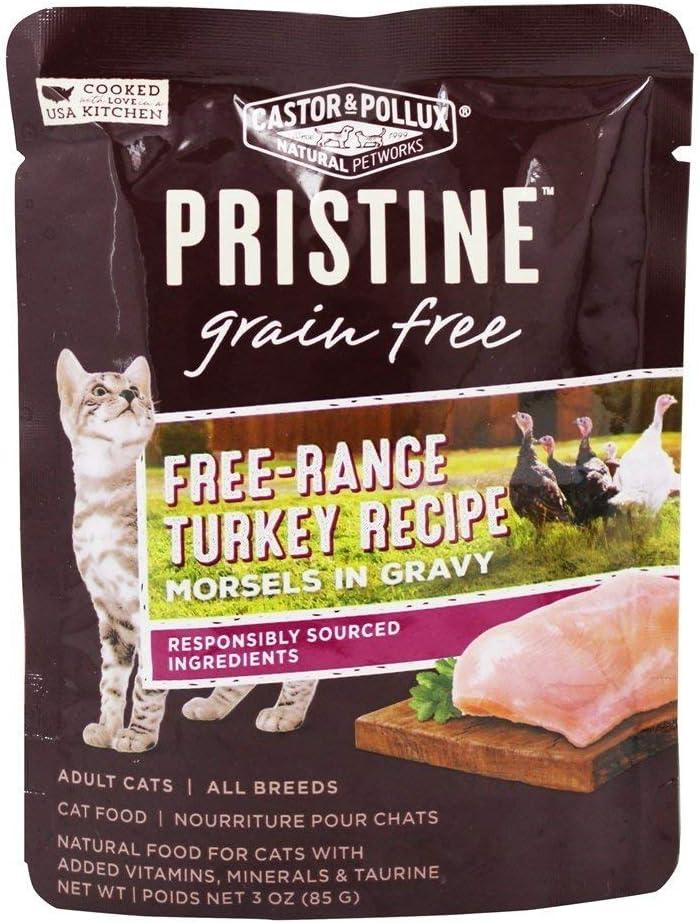 CASTOR & POLLUX Turkey Cat Food, 3 OZ