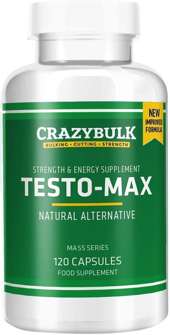 CrazyBulk Testo-Max Natural Testosterone Booster