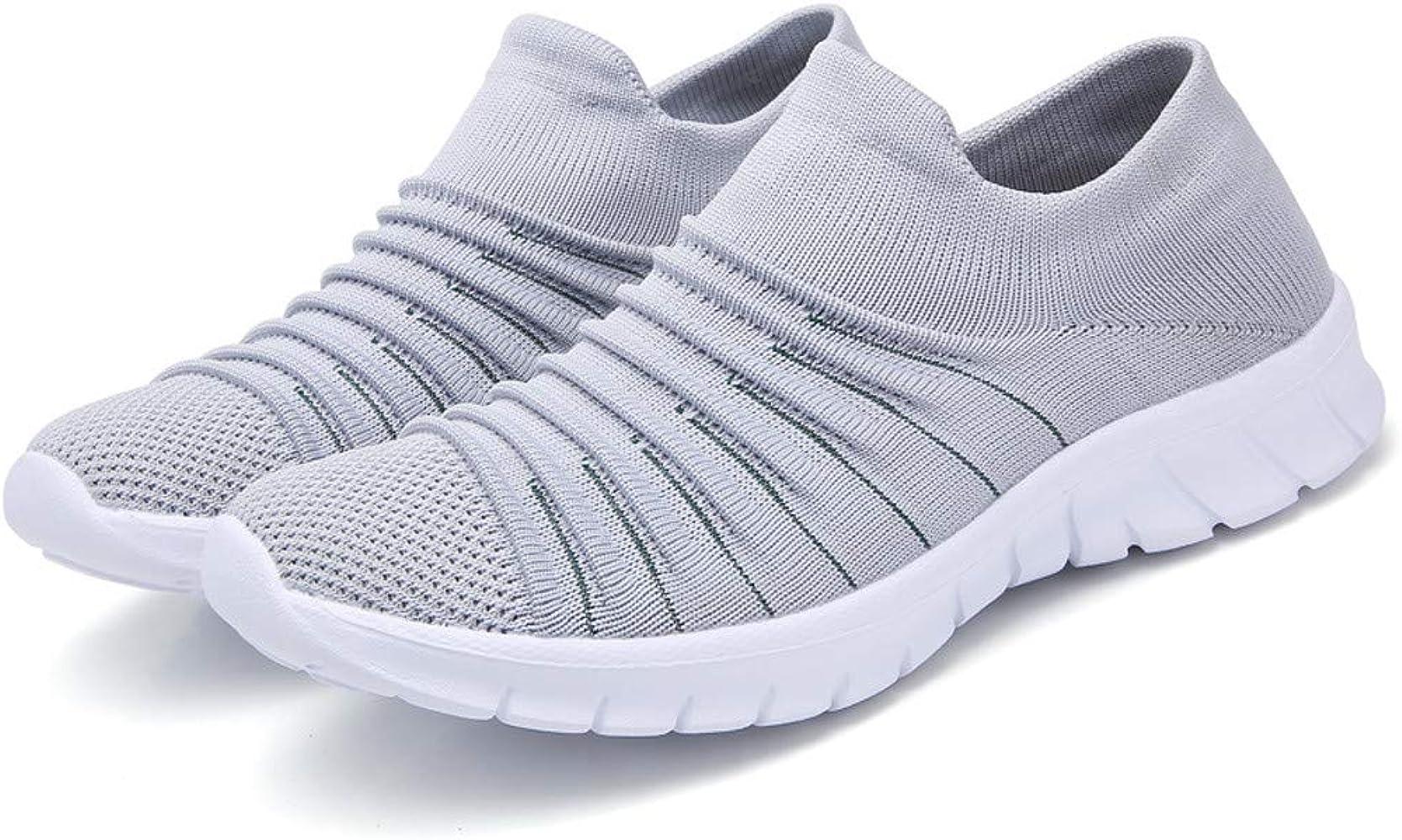 Luckycat Mujer Zapatillas Deportivas Zapatos para Correr Cuña Plataforma Gimnasio Aire para Fitness Transpirables Casual Zapatos Gimnasio Correr Sneakers Aire Libre y Deportes Zapatillas de Running: Amazon.es: Relojes