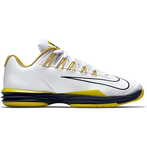 aa3eae2ab5d0 ... Nike Mens Lunar Ballistec 1.5 Tennis Shoes 705285 107 WhiteSulfurYellow  10.5 buy popular 0cb98 6b666 ...
