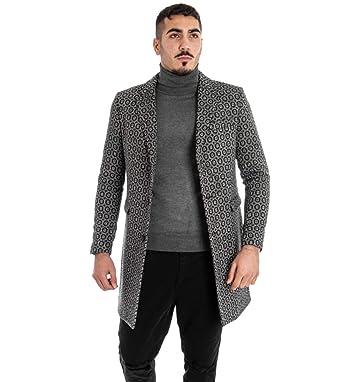Giosal - Abrigo para Hombre Mod, Chaqueta Elegante, Chaqueta ...