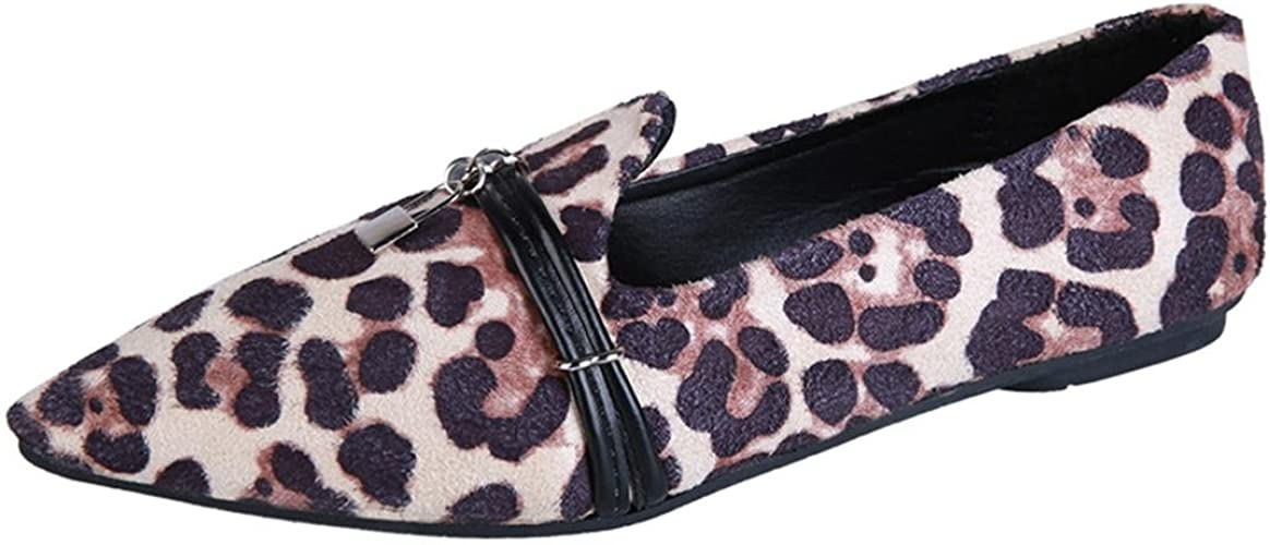 Chaussures Overdose Plates Femme Overdose Chaussures Léopard fgvYb76y