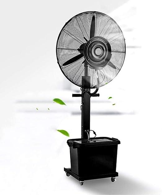 HJDHU Ventilador Nebulizador Industrial, Ventilador Oscilante De ...
