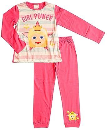 6c13d2adb3140 GetWivvit Pyjama Fille Emoji Pyjamas Licorne Smiley Sirène Fille Puissance  Tailles de 6 à 13 Ans
